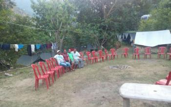 Camping & campfire in Rishikesh